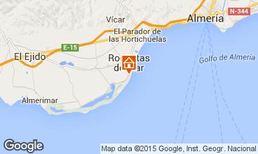 Kaart Roquetas de Mar Appartement 49476
