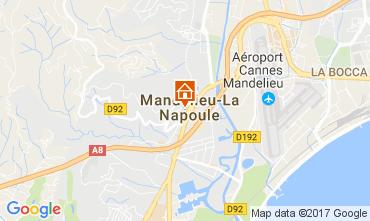 Kaart Mandelieu la Napoule Studio 67791