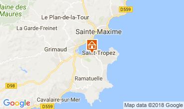 Kaart Saint Tropez Huis 95795