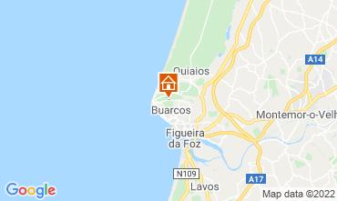 Kaart Figueira da Foz Bed & breakfast 11824