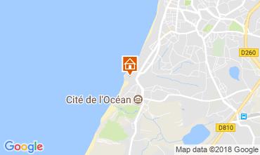 Kaart Biarritz Appartement 6379