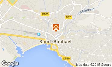 Kaart Saint Raphael Appartement 71929