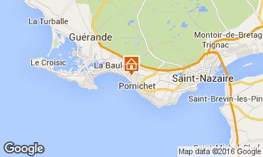 Kaart La Baule Appartement 50755