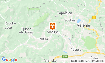 Kaart Gornigrad Bijzondere woning 117036