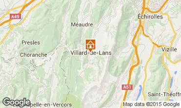 Kaart Villard de Lans - Corrençon en Vercors Appartement 3704