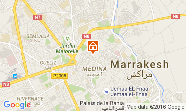 Kaart Marrakech Huis 32686