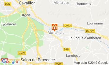 Kaart Aix en Provence Huis 91300