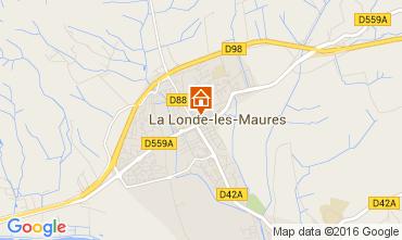 Kaart La Londe les Maures Appartement 84705