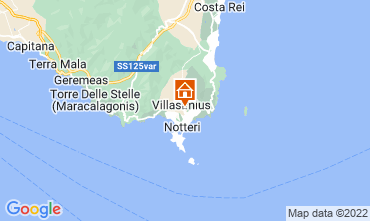 Kaart Villasimius Appartement 61164