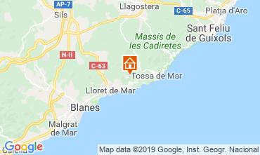 Kaart Lloret de Mar Villa 117948