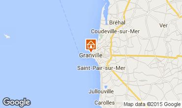 Kaart Granville Appartement 45926