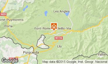Kaart Font Romeu Appartement 4136