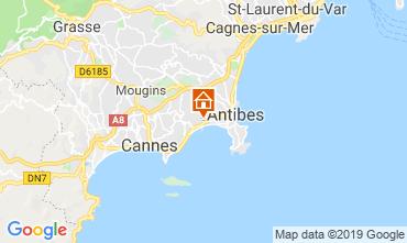 Kaart Antibes Appartement 114308