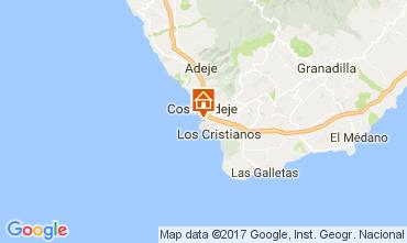 Kaart Playa de las Américas Appartement 111248