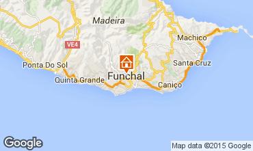 Kaart Funchal Bungalow 57060