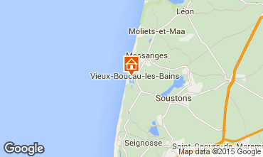 Kaart Vieux Boucau Appartement 10066