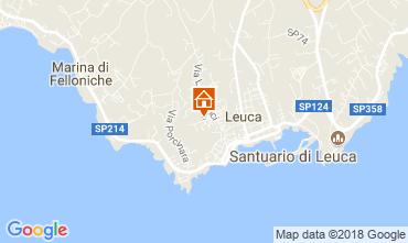 Kaart Santa Maria di Leuca Appartement 114748