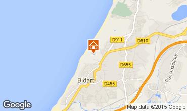 Kaart Biarritz Villa 63610