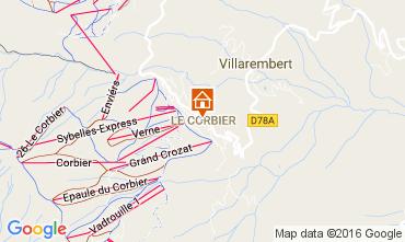 Kaart Le Corbier Studio 106601