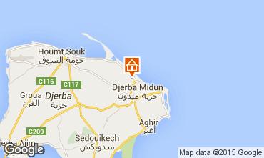 Kaart Djerba Villa 9883