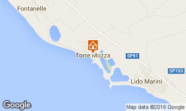 Kaart Torre Mozza Appartement 102810