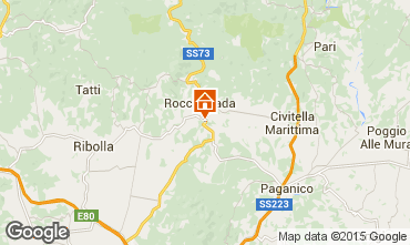 Kaart Roccastrada Villa 55549