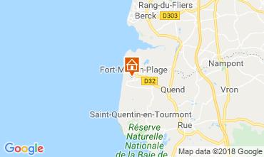 Kaart Fort Mahon Appartement 95691