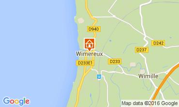 Kaart Wimereux Huis 70960
