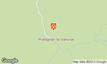Kaart Pralognan la Vanoise Appartement 91916