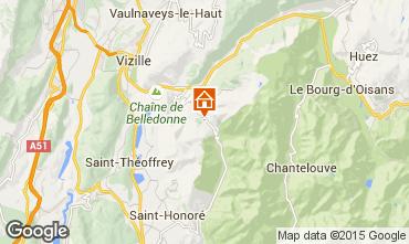 Kaart Alpe du Grand Serre Studio 58119