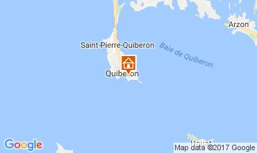Kaart Quiberon Appartement 107688