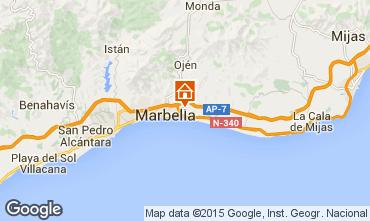 Kaart Marbella Villa 78085