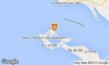 Kaart Les Portes-en-Ré Huis 5037