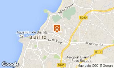 Kaart Biarritz Studio 70113
