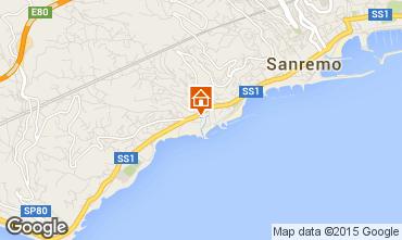 Kaart Sanremo Appartement 41613