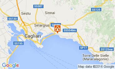 Kaart Cagliari Appartement 103717