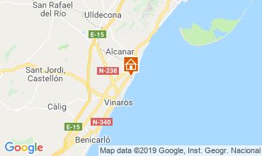 Kaart Vinaròs Appartement 119038