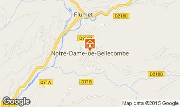 Kaart Notre Dame de Bellecombe Appartement 97632
