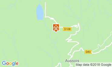 Kaart Aussois Appartement 38700