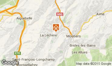 Kaart Valmorel Chalet 3473