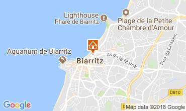 Kaart Biarritz Studio 112149
