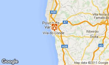 Kaart Vila do Conde Appartement 75568