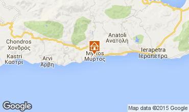 Kaart Ierapetra Appartement 100687