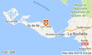 Kaart La Flotte en Ré Huis 17085