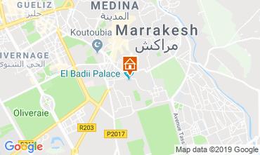 Kaart Marrakech Bed & breakfast 119627