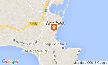 Kaart Antibes Studio 105768