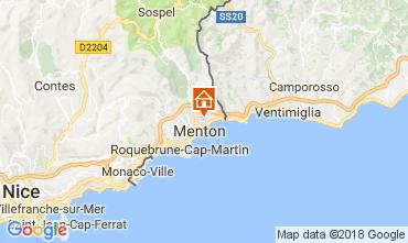Kaart Menton Appartement 113375