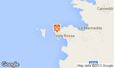 Kaart Isola Rossa Appartement 85297