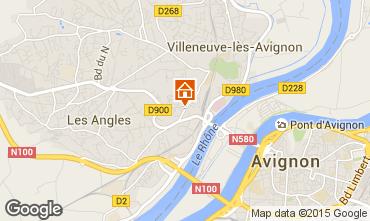 Kaart Avignon Studio 78730