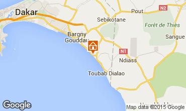 Kaart Toubab Dialaw Villa 65531